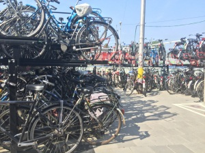 Yet more bike parking