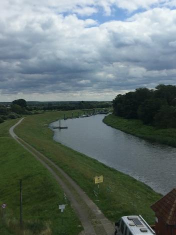 The Elbe and Radweg